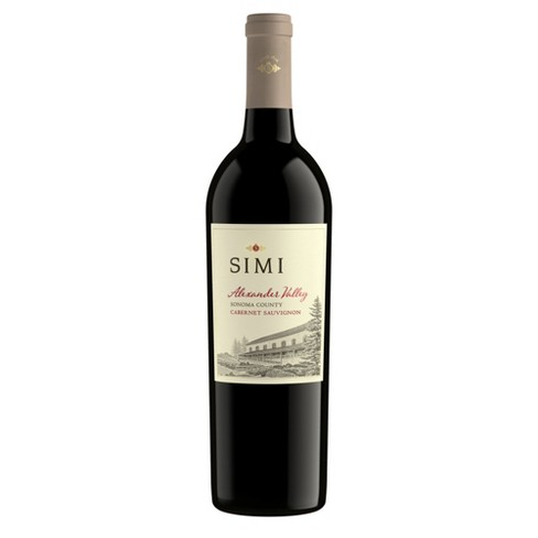 Simi Alexander Valley Cabernet Sauvignon Red Wine - 750ml Bottle - image 1 of 1