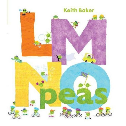 LMNO Peas - by  Keith Baker (Hardcover) - image 1 of 1