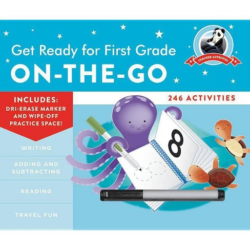 Get Ready for First Grade: On-The-Go - (Get Ready for School) by  Heather Stella (Spiral_bound) - image 1 of 1