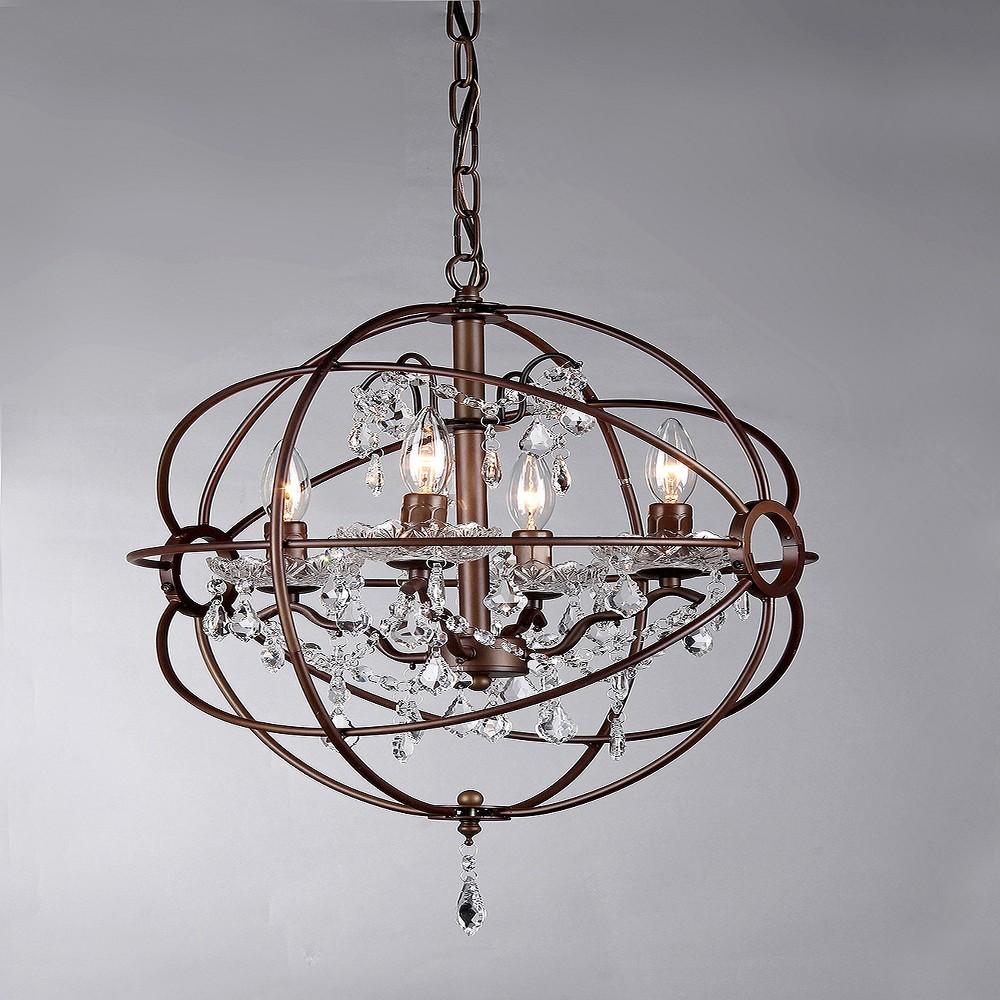 Warehouse Of Tiffany Chandelier - Bronze