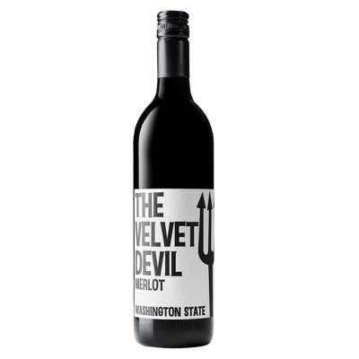 The Velvet Devil Merlot Red Wine by Charles Smith - 750ml Bottle