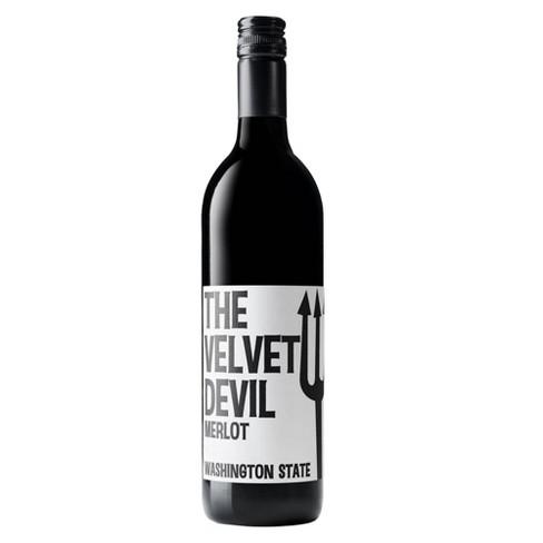 Charles Smith The Velvet Devil Merlot Red Wine - 750ml Bottle - image 1 of 2