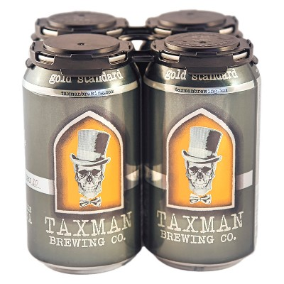 Taxman Gold Standard Belgian-Style Blonde Ale Beer - 4pk/12 fl oz Cans