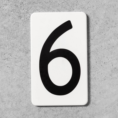 6 House Number Plate - Hearth & Hand™ with Magnolia
