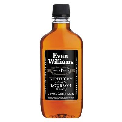 Evan Williams Bourbon Whiskey - 750ml Plastic Bottle