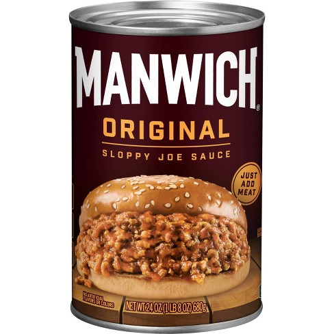 Manwich Orginal Sloppy Joe Sauce - 24oz - image 1 of 3