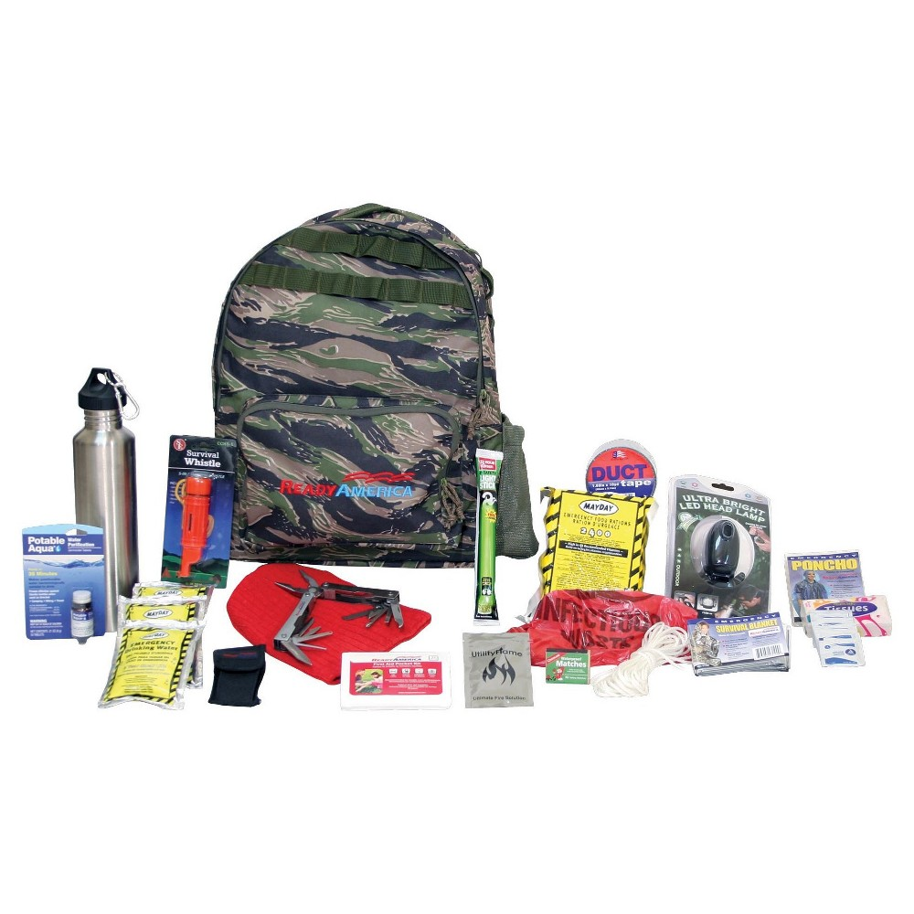 Ready America Emergency Deluxe 1 Person Outdoor Survival Kit