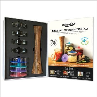 Masontops Complete Mason Jar Fermentation Kit