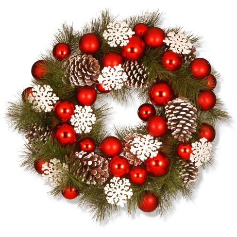 about this item - Christmas Ball Wreath