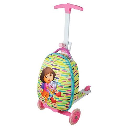 Dora the Explorer Scootie Kids Scooter Suitcase - image 1 of 4