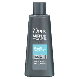 Dove Men+Care Clean Comfort Body and Face Wash-Trial Size - 3oz