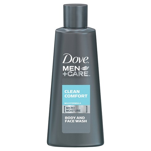 Dove Men+Care Clean Comfort Body & Face Wash - 3oz - image 1 of 2