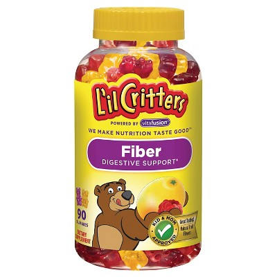 L'il Critters Fiber Supplement Gummies, 90ct