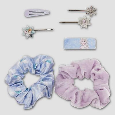 Girls' Frozen 7pk Hair Accessory Set