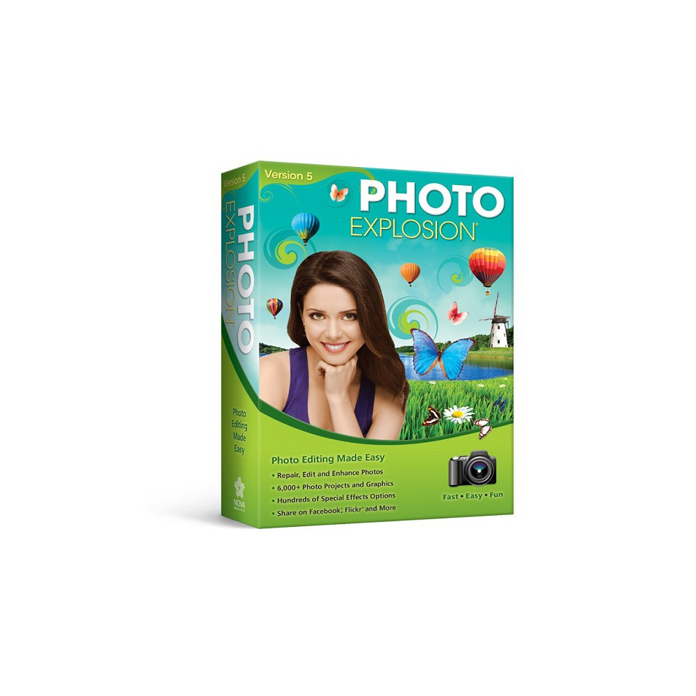Avanquest Photo Explosion Standard 5 0 Pc Email Delivery