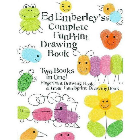Ed Emberley's Complete Funprint Drawing Book - (Hardcover) - image 1 of 1