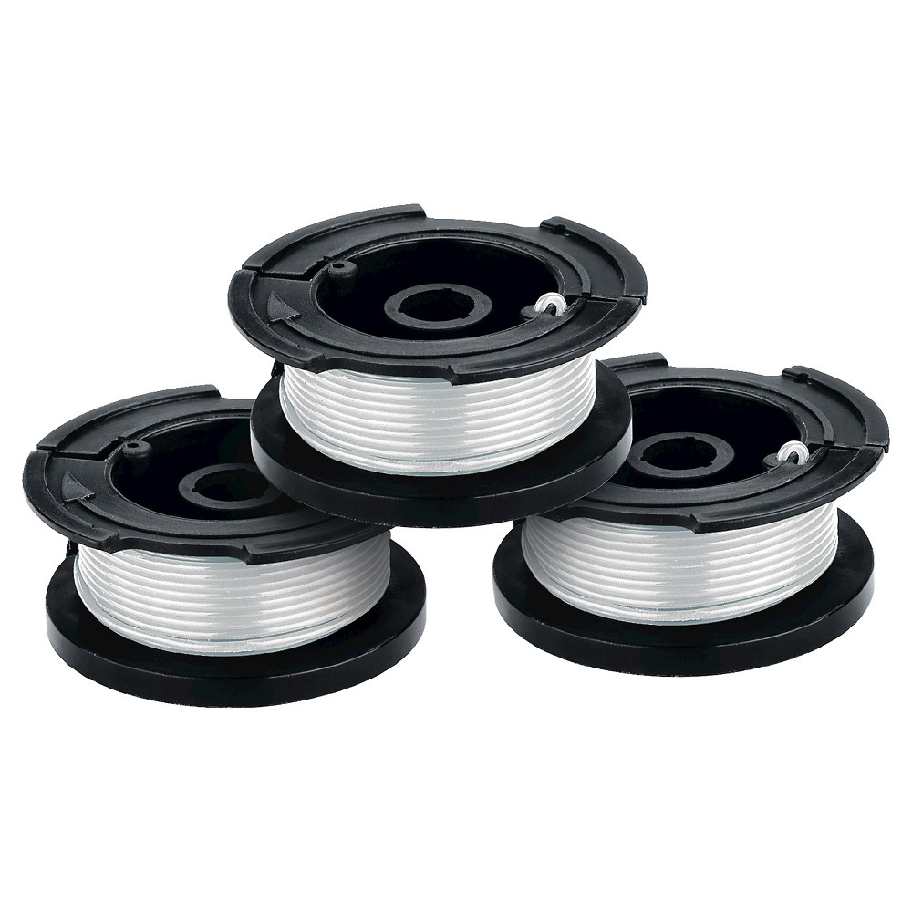 "Image of ""BLACK+DECKER .065"""" Single Line AFS Spools (3pk) - AF-100-3ZP - White"""