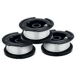 "BLACK+DECKER .065"" Single Line AFS Spools (3pk) - AF-100-3ZP - White"