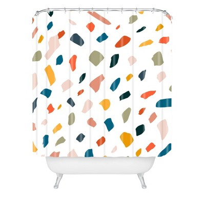 83 Oranges Terrazzo Love Shower Curtain - Deny Designs