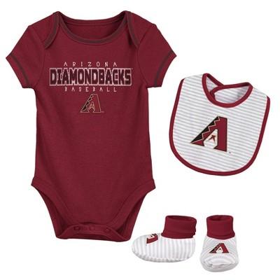 MLB Arizona Diamondbacks Baby Boys' Short Sleeve Layette Set