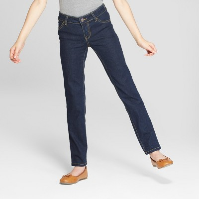 Girls' Straight Mid-Rise Jeans - Cat & Jack™
