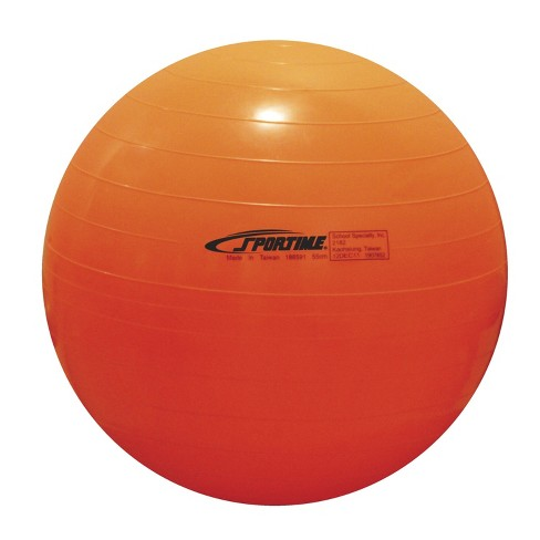 Sportime Economy Play and Exercise Ball, 21-1/2 Inches, Orange - image 1 of 1