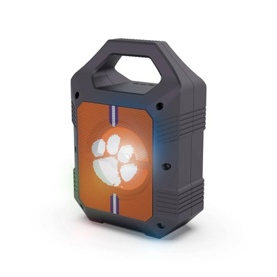 NCAA Clemson Tigers Bluetooth Speaker with LED Lights