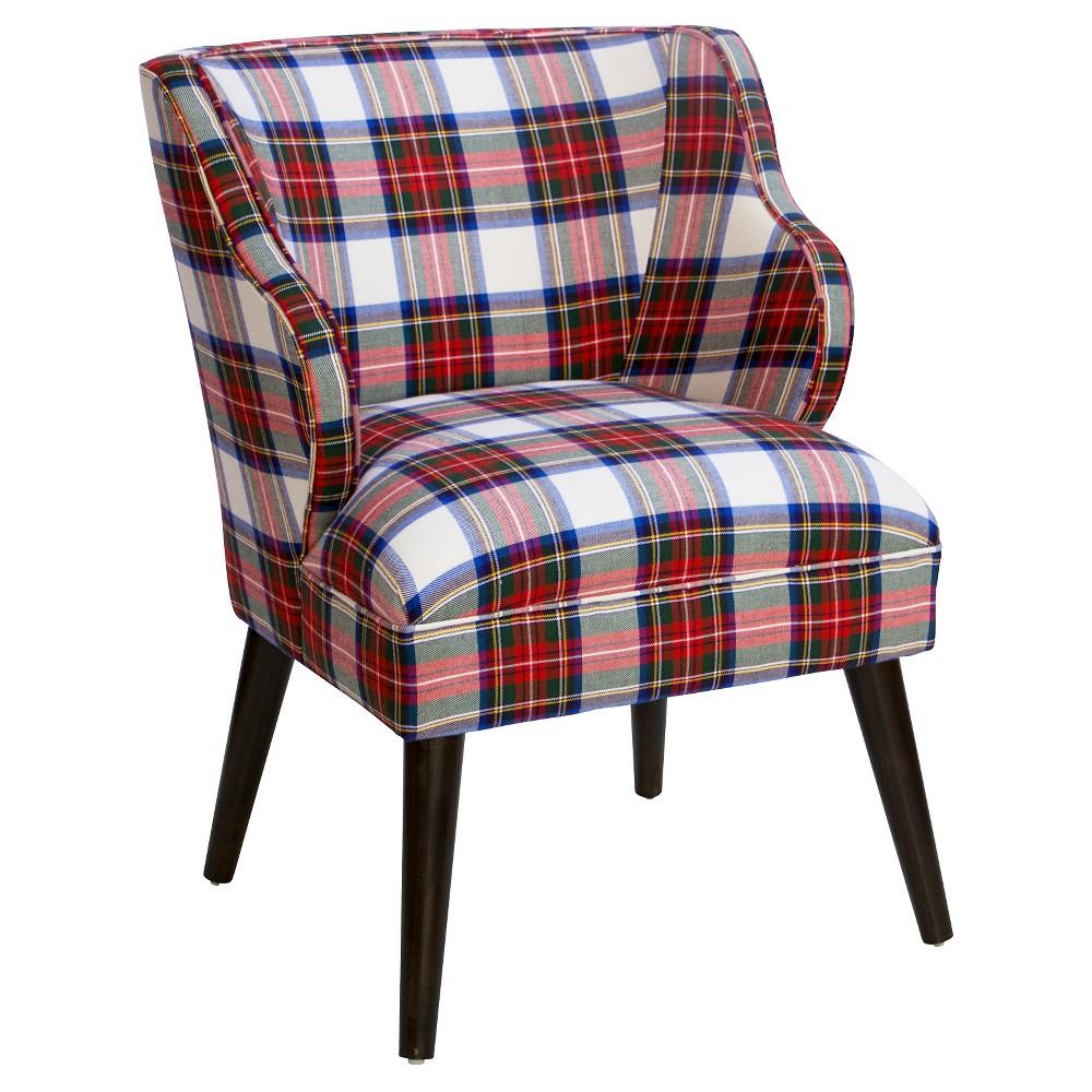 Skyline Modern Chair - Skyline Furniture, Red/White