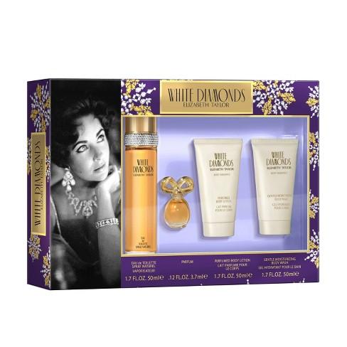 Elizabeth Taylor White Diamonds Women's Fragrance Gift Set - 4pc - image 1 of 4