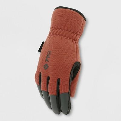Ethel Gardening Gloves Crimson L - Mechanix Wear