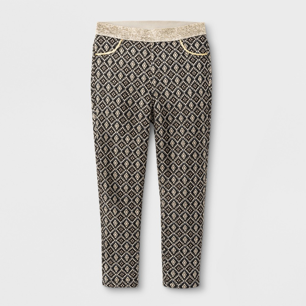 Toddler Girls' Fashion Pants - Genuine Kids from OshKosh Black 3T Toddler Girls' Fashion Pants - Genuine Kids from OshKosh Black 3T Gender: Female. Pattern: Jacquard. Material: Polyester.