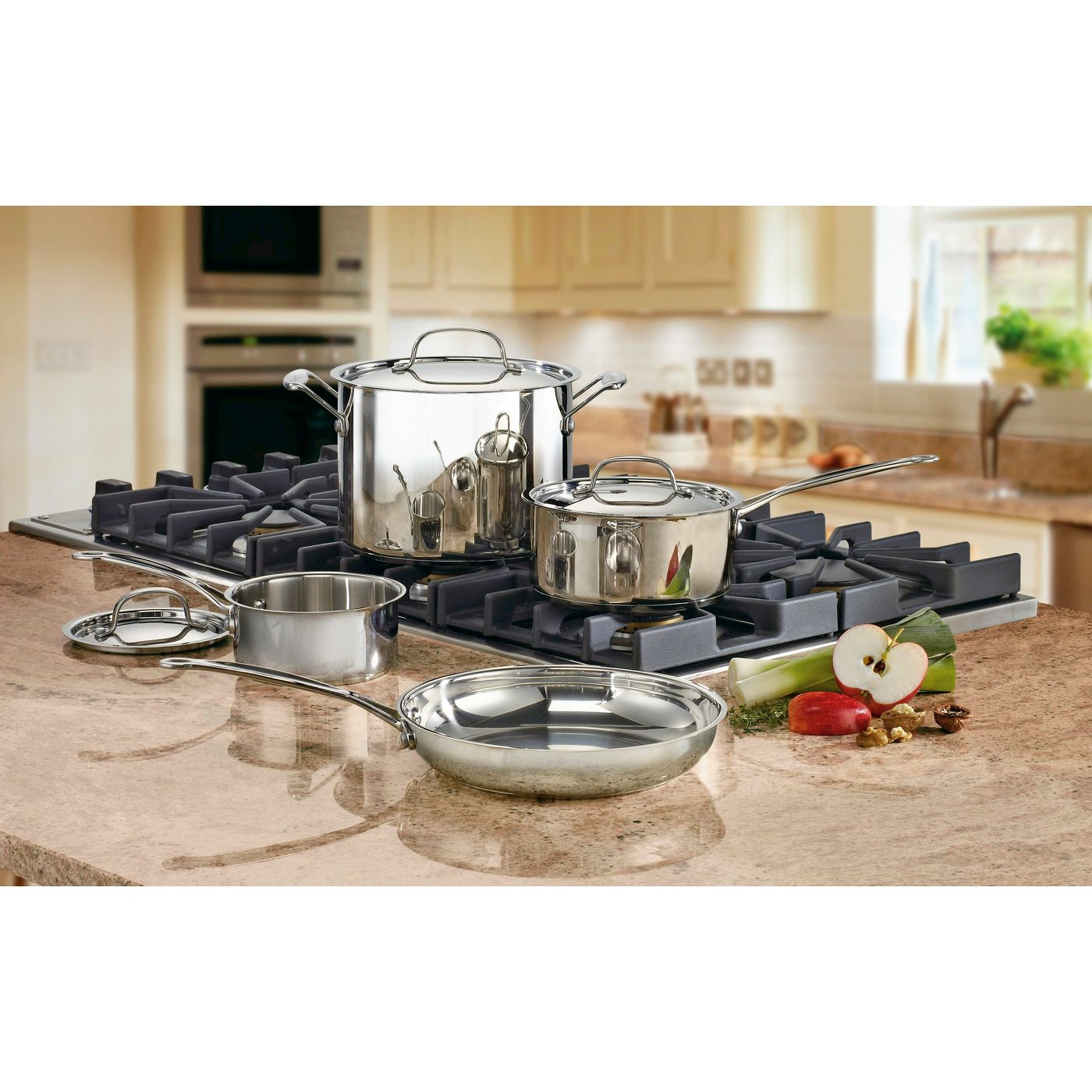 Cuisinart® Chef's Classic Stainless Steel Set 7pc Set -  77-7 - image 1 of 2