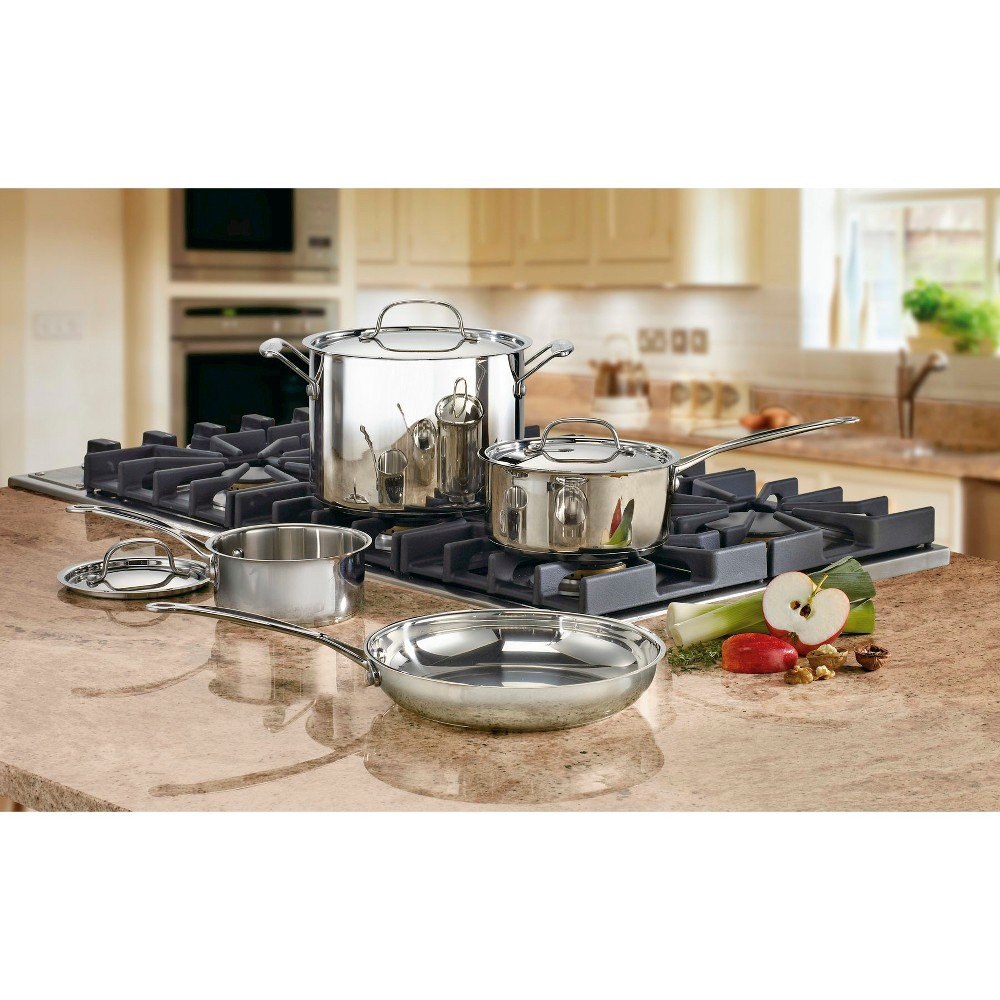 Cuisinart Chef's Classic Stainless Steel Set 7pc Set - 77-7, Silver
