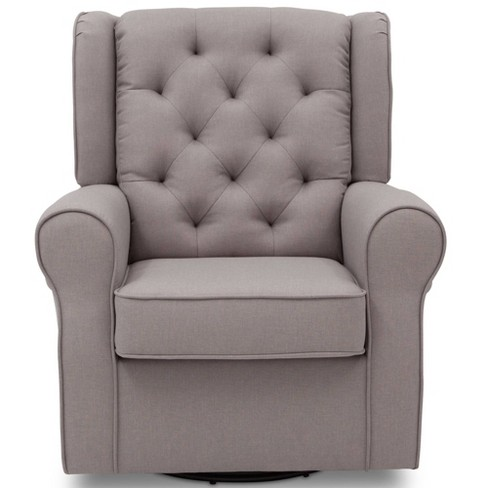 Phenomenal Delta Children Emma Nursery Glider Swivel Rocker Chair French Gray Uwap Interior Chair Design Uwaporg