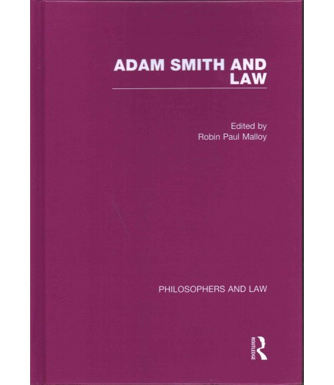 Adam Smith and Law (Hardcover) (Robin Paul Malloy) - image 1 of 1