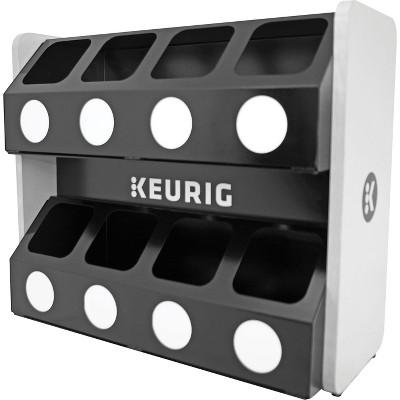 Keurig Premium K-Cup Pod Storage Rack, 8 Sleeve 611247376621