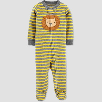 Baby Boys' Lion Fleece One Piece Pajama - Just One You® made by carter's3M