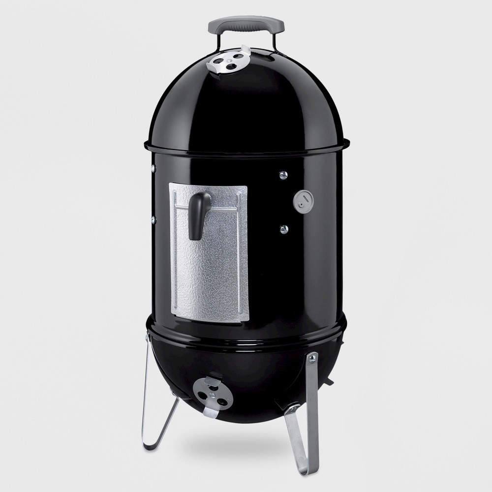Weber 22 731001 Smokey Mountain Cooker Smoker, Black 11154580