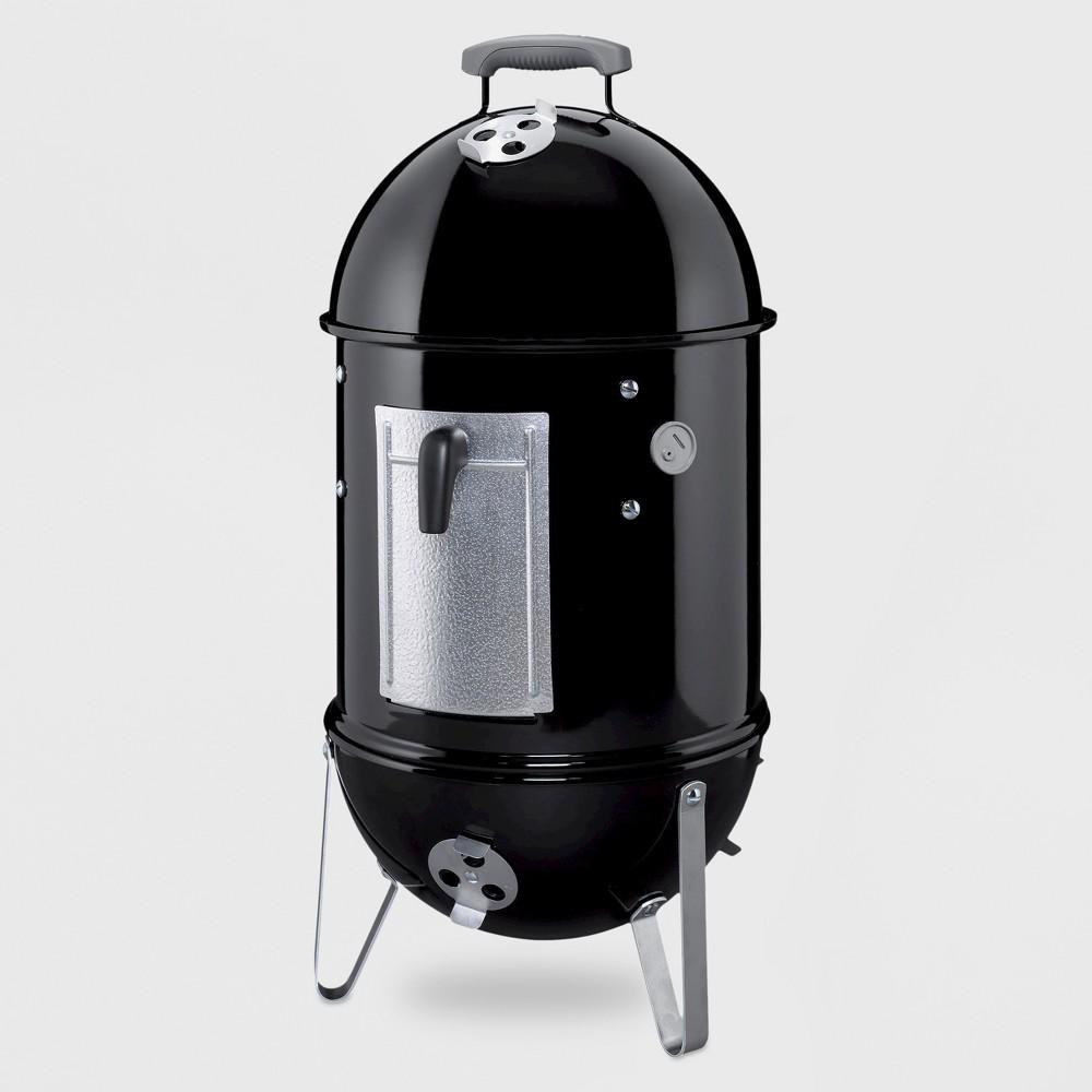Weber 22 731001 Smokey Mountain Cooker Smoker, Black 11154580