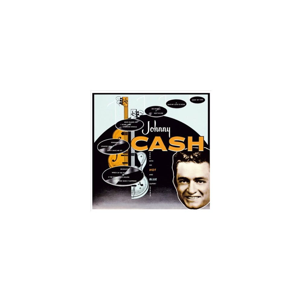 Johnny Cash - With His Hot & Blue Guitar (Vinyl)