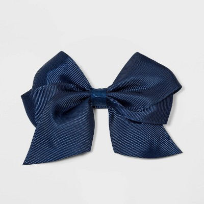 Girls' Solid Bow Hair Clip - Cat & Jack™