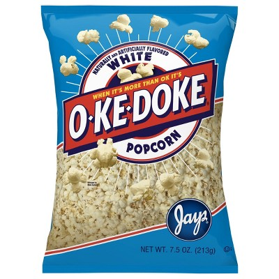 O-Ke-Doke White Popcorn - 8oz