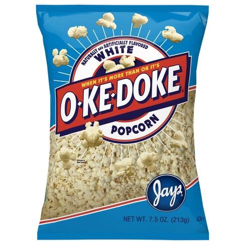 O-Ke-Doke White Popcorn - 8oz - image 1 of 4