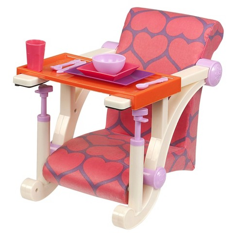 Our Generation® Clip-on Chair - Hearts - image 1 of 4