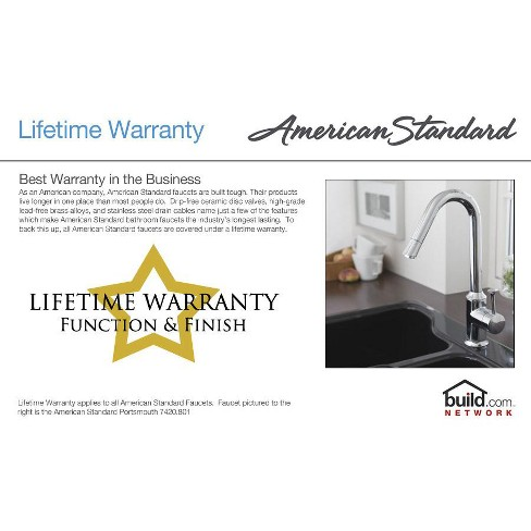 American Standard 4175 501F15 Colony Soft Water Conscious Kitchen Faucet