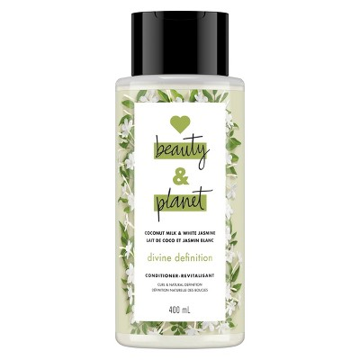 Love Beauty & Planet Coconut Milk and White Jasmine Divine Definition Hair Conditioner - 13.5 fl oz