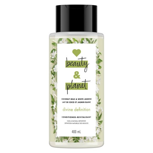 Love Beauty & Planet Coconut Milk and White Jasmine Divine Definition Hair Conditioner - 13.5 fl oz - image 1 of 7
