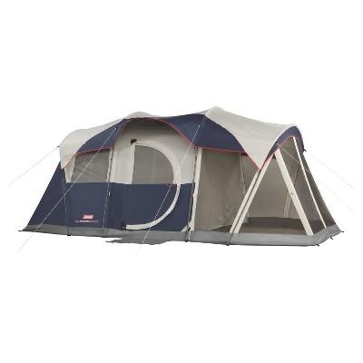 Coleman® Elite WeatherMaster 6-Person Screened Tent - Gray/Navy