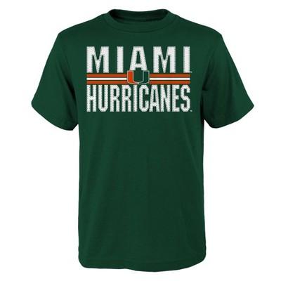 NCAA Miami Hurricanes Boys' Short Sleeve Crew Neck T-Shirt