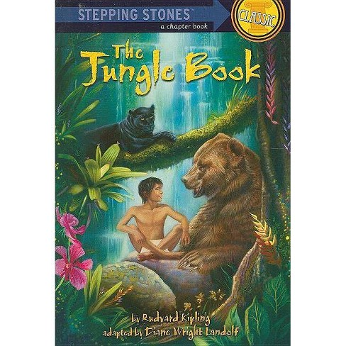 The Jungle Book - (Stepping Stone Book Classics) by  Diane Wright Landolf (Paperback) - image 1 of 1